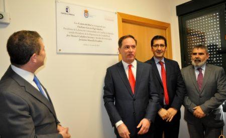 Inauguración del centro de día de Chillón
