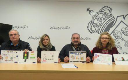 Fallados los premios del VII Concurso de Dibujo y Slogan sobre educación vial de Manzanares