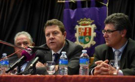 """García-Page: """"Yo estoy en política para combatir a quienes confunden la diferencia con la desigualdad"""""""