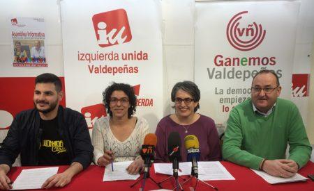 IU-Ganemos celebrará su Asamblea Informativa el próximo sábado