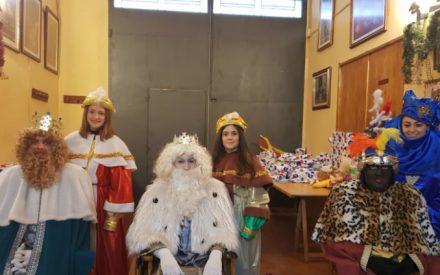 Los Reyes Magos visitaron la Hermandad de Misericordia y Palma