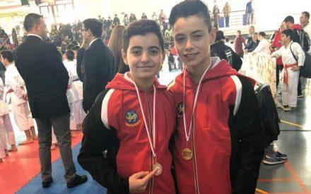 El Club Okinawa de Valdepeñas ha participado en la segunda fase del torneo de karate en edad escolar