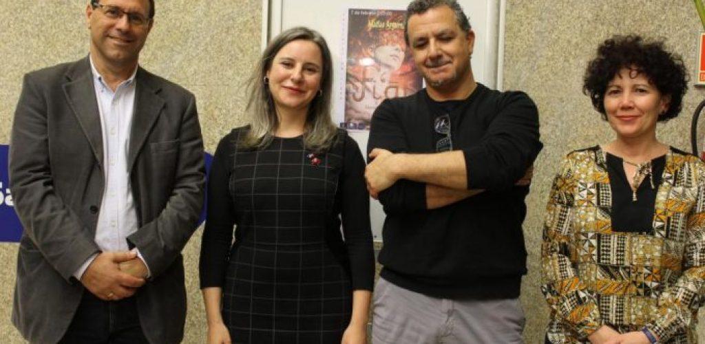 Araceli Martínez asiste a la presentación de la novela histórica-feminista 'Fi al' del autor Matías Argumánez en Ciudad Real