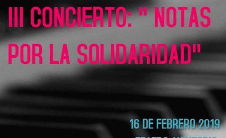 Valdepeñas celebrará el próximo 16 de febrero el III Concierto 'Notas por la Solidaridad Humana'