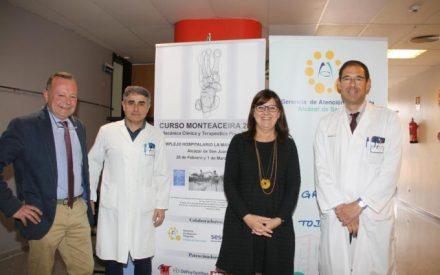 Inaugurado el Curso Monteaceira, sobre Mecánica Clínica y Terapéutica Pie y Tobillo en Alcázar de San Juan