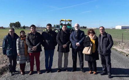 La Diputación ha invertido en Bolaños de Calatrava 66.107 euros para el arreglo de caminos en los últimos dos años