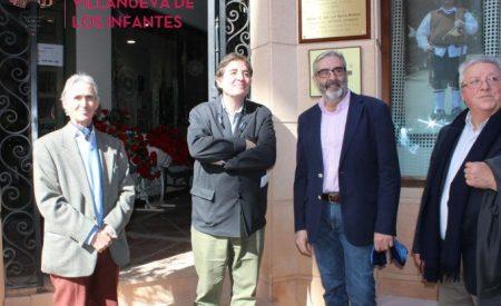 Luís García Montero, inaugura la oficina del Centro Internacional 'Lugar de la Mancha' de estudios sobre el Quijote (CILMEQ) en Infantes