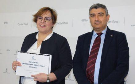 El Gobierno de García-Page contempla 86 obras en la provincia de Ciudad Real dentro del Plan de Infraestructuras Educativas 2019-2023