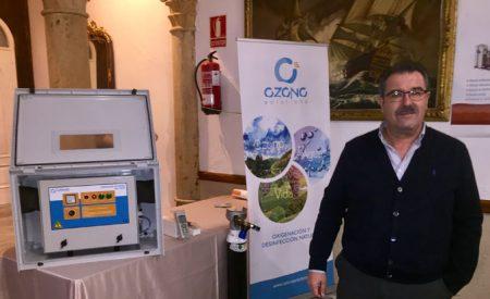 Ozono Solutions Aplicaciones presenta la utilidad del ozono en los tratamientos en la viña en Salones Gran Paraíso