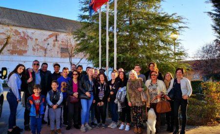 Llegan a Valdepeñas un grupo de estudiantes franceses para hacer prácticas en el comercio local a través de un programa erasmus