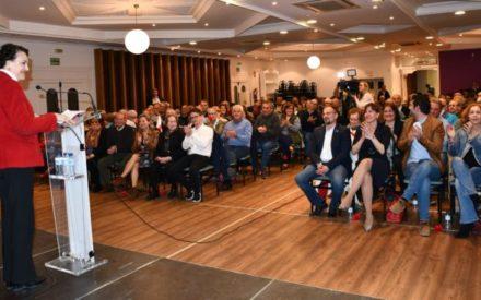 La ministra Valerio respalda al candidato Matías Mecinas de Moral de Calatrava