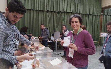IU Valdepeñas: Juana Caro pide a la gente que salga a votar porque nos estamos jugando nuestros derechos