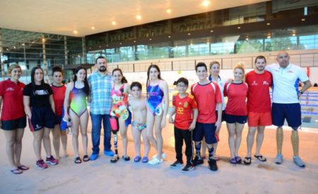 5 Nadadores del C.N. Valdepeñas en las Jornadas de Tecnificación de Natación Adaptada