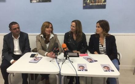 Marta González y Rosa Romero, vicesecretaria de Comunicación y candidata número uno del PP participaron en  un «Café con Mujeres»