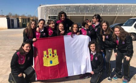 Carla Calvache Amador, alumna del IES Francisco de Quevedo, de Infantes, participa con la Selección Autonómica de Fútbol-Sala de CLM en el Campeonato de España de Selecciones Autonómicas