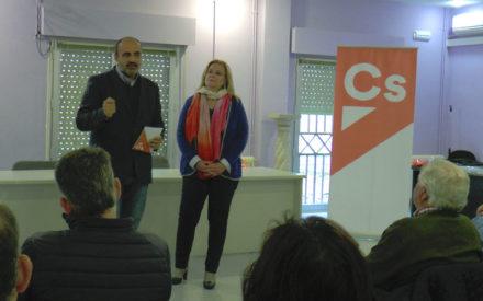 Reunión de Ciudadanos con autónomos y emprendedores de Valdepeñas