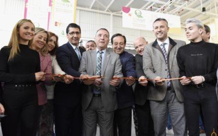 Caballero pide en la inauguración de FERDUQUE servicios y medidas que incentiven vivir en el medio rural