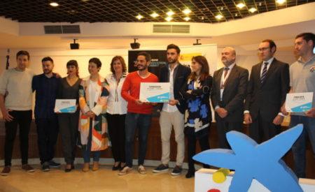 Patricia Franco ha asistido en la entrega de los premios Emprendedor XXI organizados por Caixa Bank en Ciudad Real