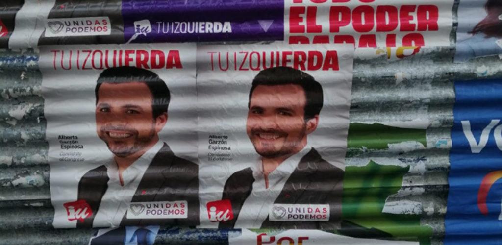 Vox Valdepeñas desmiente las acusaciones de Unidas Podemos respecto a sus carteles