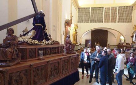 PSOE: Jesús Martín se presta a ayudar a `Los Moraos´ de Daimiel a conseguir que la Semana Santa sea declarada de Interés Turístico Nacional