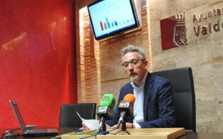 28-A Valdepeñas: PSOE (32,38%), C's (22,35%), PP (18,86%), Vox (12,76%) y Podemos-IU-Equo (10,93%)
