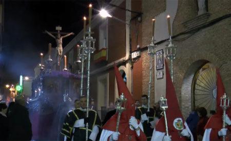 Tras larga espera salió la procesión de Misericordia y Palma