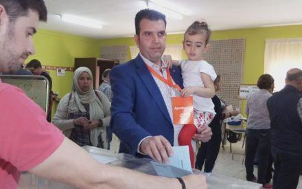 """Juan Francisco Martín  de Ciudadanos """"Son unas elecciones importantes para los valdepeñeros"""""""