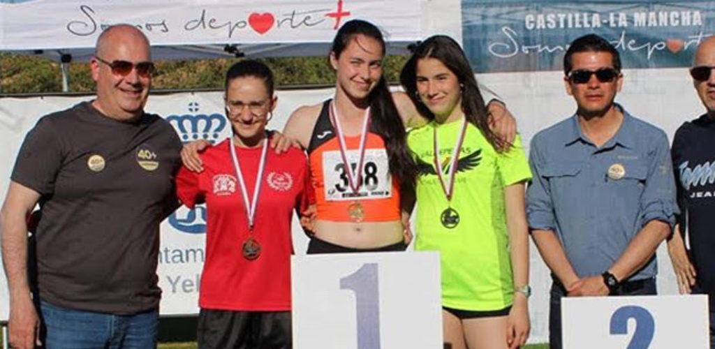 Tres medallas para los del Valdepeñas Athletics Club en la 3ª Jornada del Campeonato Regional