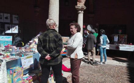"""Una docena de """"mujeres con arte"""" han expuesto en Almagro este fin de semana"""