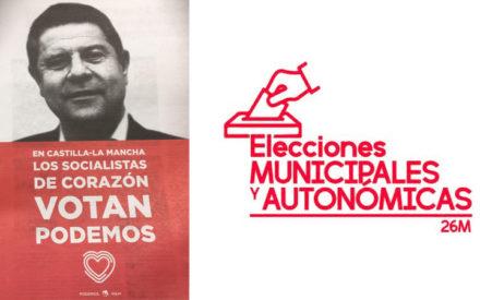 La Junta Electoral suspende la polémica campaña de Podemos en CLM