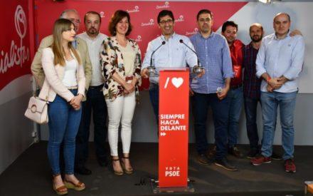 """Caballero agradece a la ciudadanía el triunfo """"arrollador"""" que concede la mayoría absoluta al PSOE en la Diputación de Ciudad Real y la Junta de Comunidades"""