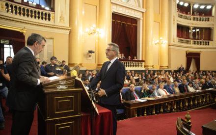 Jesús Martín Rodríguez, Carmen Mínguez y José Manuel Bolaños adquieren su condición plena de senadores