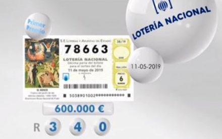 Un primer premio de la Lotería Nacional cae en Valdepeñas