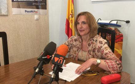 El PP de Valdepeñas agradece el trabajo de Herminia Ruiz