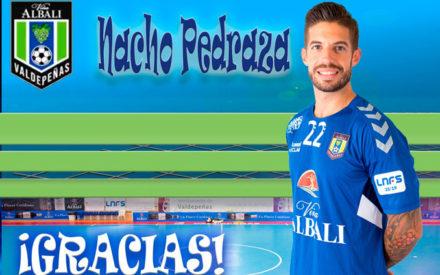 Nacho Pedraza no continuará en el Viña Albali Valdepeñas