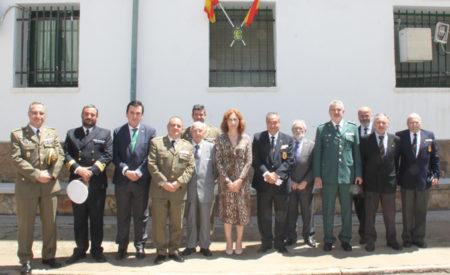 La Cofradía de Jesús Caído en los actos conmemorativos del 175 aniversario de la fundación de la Guardia Civil