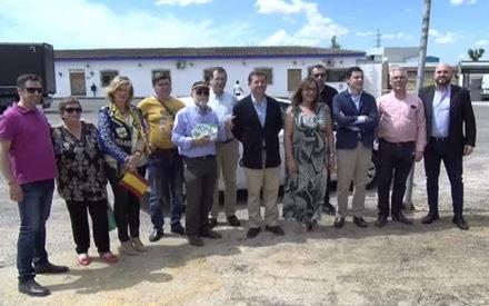 Vox Valdepeñas visita las Bodegas García Carrión