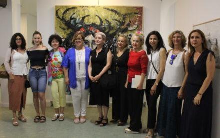 V Muestra  Mujeres en el Arte 'Amalia Avia' inaugurada en Ciudad Real