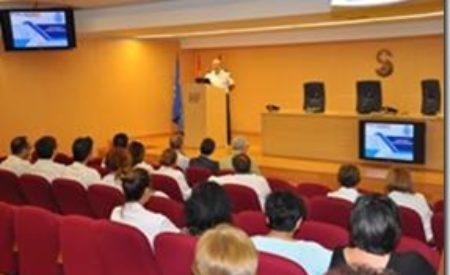 La Policía Nacional imparte charlas en los hospitales de la provincia dirigidas a más de 130 profesionales del área sanitaria
