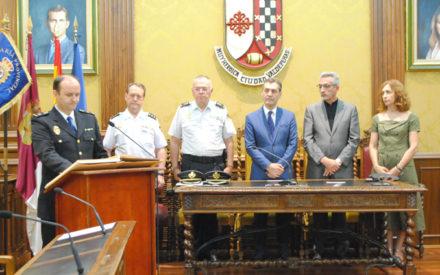 La Comisaría de Policía Nacional celebra la toma de posesión de su nuevo inspector jefe: Martín Cañizal