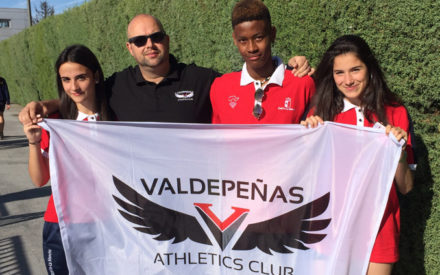 Gran actuación de los atletas del Valdepeñas Athletics Club en el Campeonato de España Sub-16