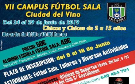 Llega el VII Campus Fútbol Sala Ciudad del Vino