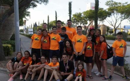 El C.N. Valdepeñas consigue una sexta posición en la clasificación general del Campeonato provincial de Natación