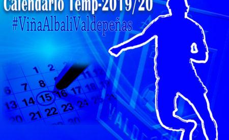 Calendario de la temporada 2019/2020 del Viña Albali Valdepeñas