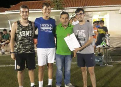 Disputada la XII Liga Comarcal de Fútbol-7 de Villanueva de los Infantes