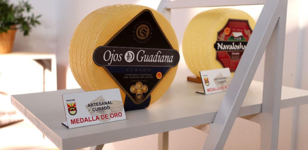 Ojos del Guadiana', doble medalla de oro en quesos manchegos artesanales