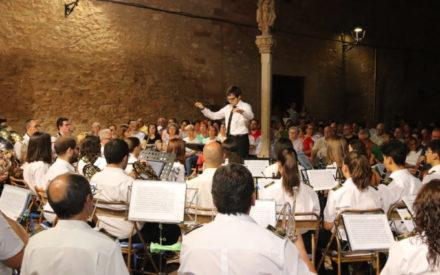 Colofón cultural a la feria de Manzanares con los pasodobles de la banda de música