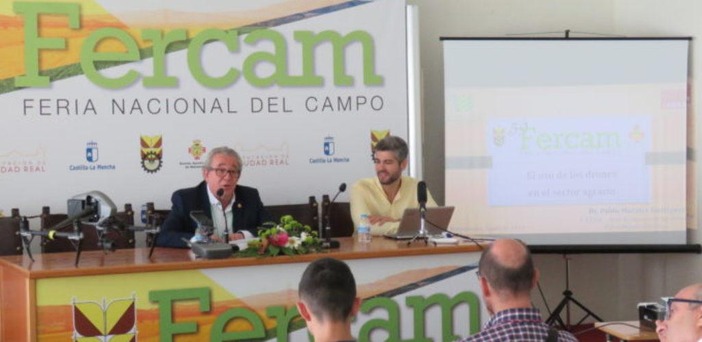 """""""Los drones no son el futuro, son el presente del sector agrario"""" conferencia de Fercam 2019"""