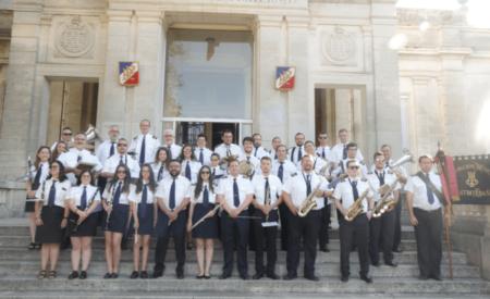La Agrupación Musical Maestro Ibáñez de Valdepeñas participa en diversos actos y conciertos en Francia