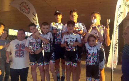 El Club Ciclista Daimiel suma su XVII Trofeo José A. Pecharromán para Escuelas y estrena su nueva equipación